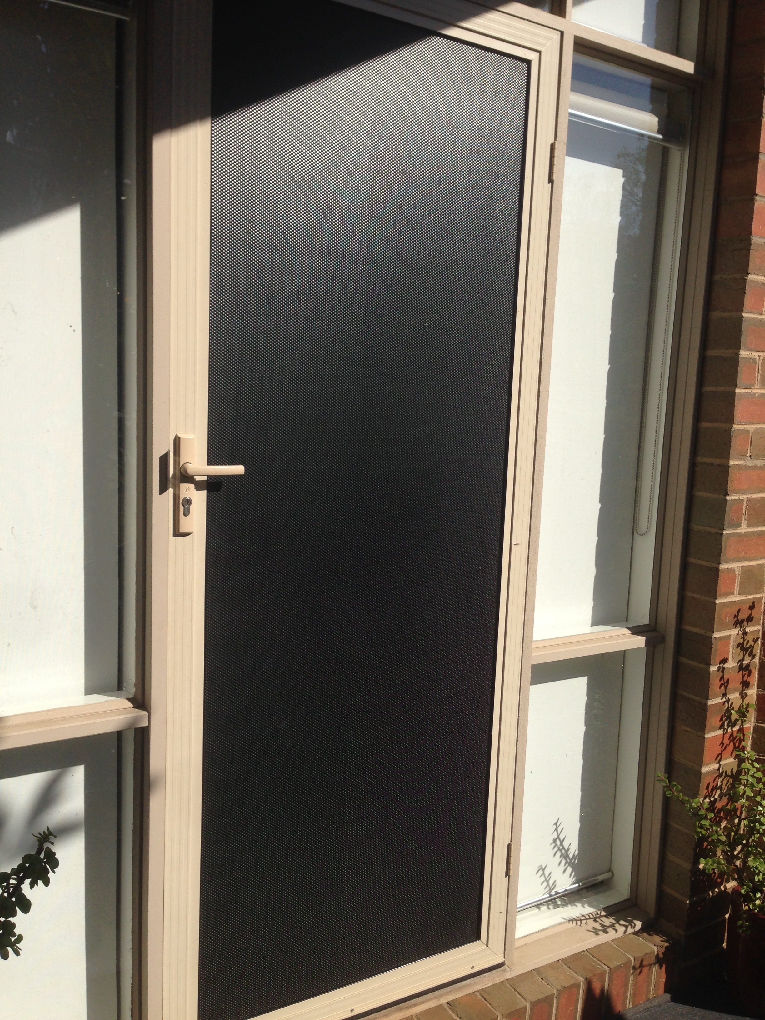 Eco Roller Shutters - tough mesh security screen ... : screan doors - pezcame.com